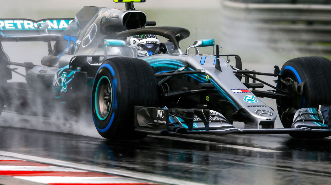Valtteri Bottas - Mercedes - GP Ungarn 2018 - Qualifying
