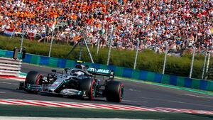 Valtteri Bottas - Mercedes - GP Ungarn 2019 - Budapest - Qualifying