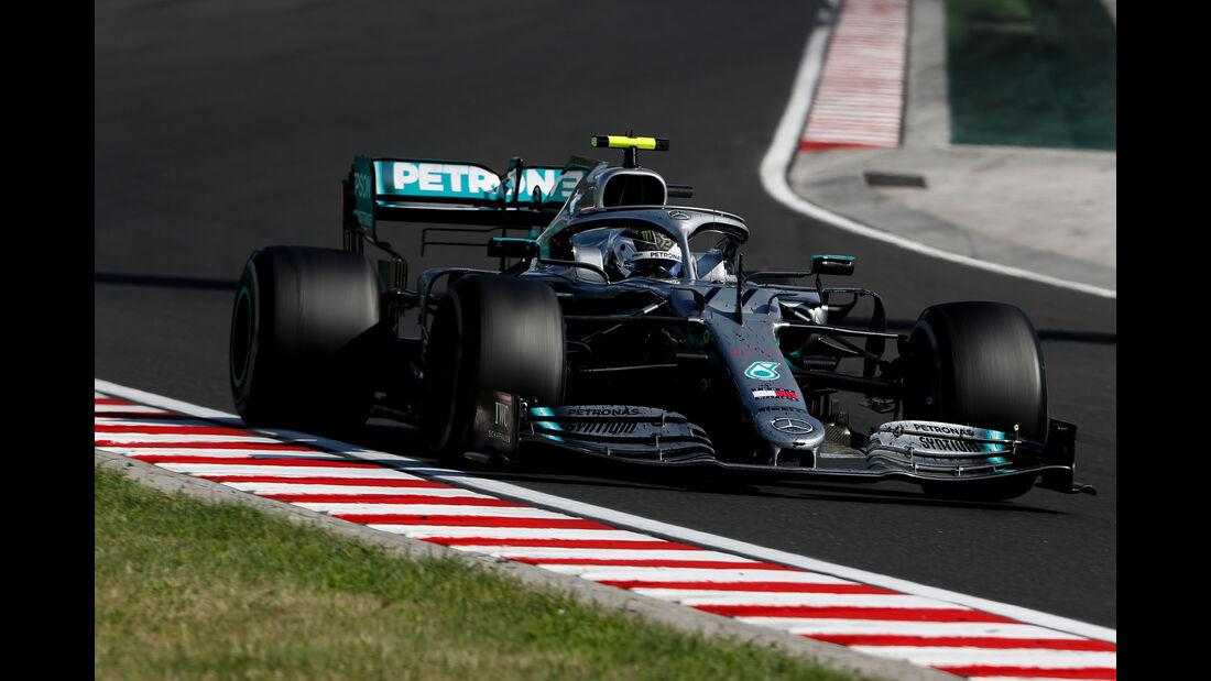 Valtteri Bottas - Mercedes - GP Ungarn 2019 - Budapest - Rennen