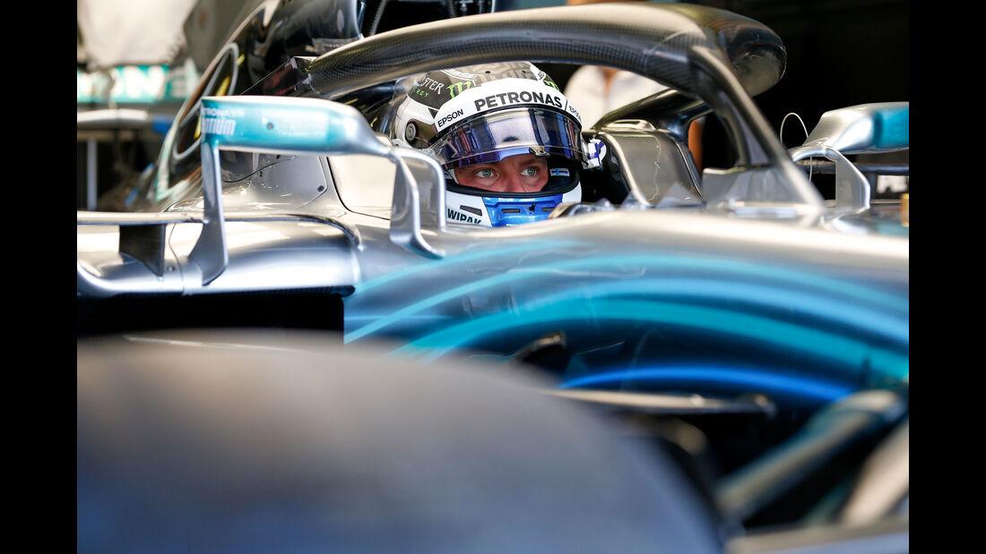 Valtteri Bottas - Mercedes - GP Ungarn - Budapest - Formel 1 - 27.7.2018