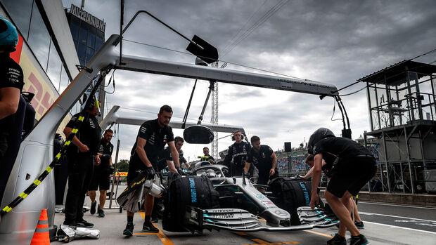 Valtteri Bottas - Mercedes - GP Ungarn - Budapest - Formel 1 - Freitag - 1.8.2019