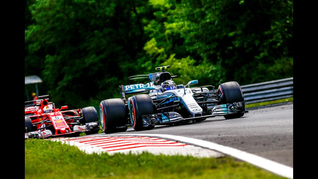 Valtteri Bottas - Mercedes - GP Ungarn - Budapest - Formel 1 - Freitag - 28.7.2017