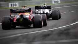 Valtteri Bottas - Mercedes - Max Verstappen - Red Bull - Formel 1 2020