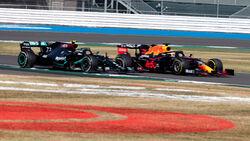 Valtteri Bottas - Mercedes - Max Verstappen - Red Bull - GP 70 Jahre F1