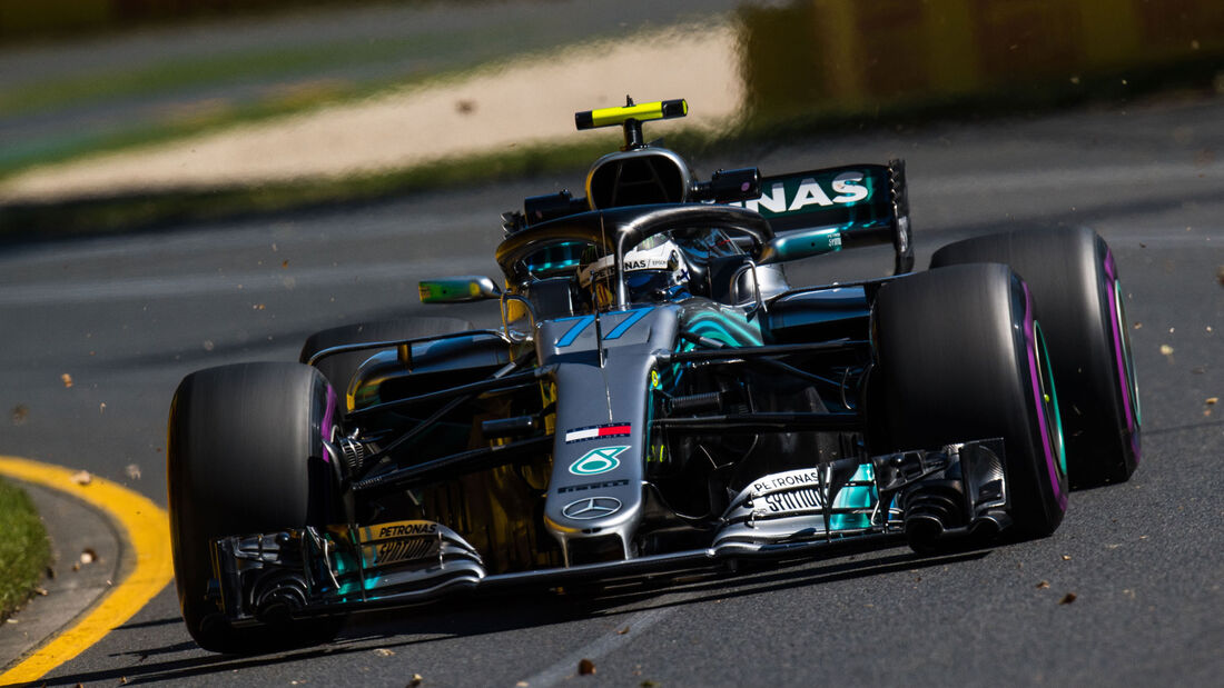 Valtteri Bottas - Mercedes - Qualifying - GP Australien 2018 - Melbourne