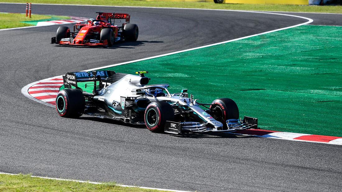 Valtteri Bottas - Mercedes - Sebastian Vettel - Ferrari - GP Japan 2019 - Suzuka