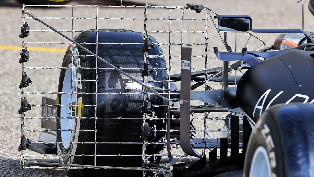 Valtteri Bottas - Mercedes - Test - Formel 1 - Bahrain - 12. März 2021
