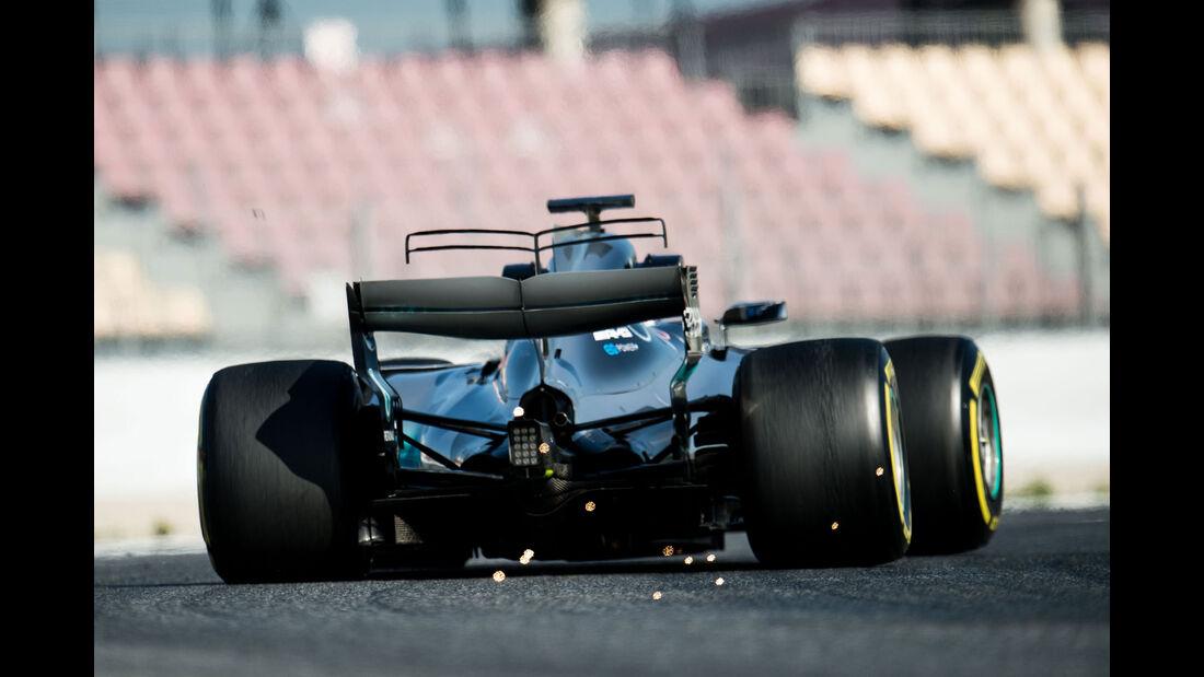 Valtteri Bottas - Mercedes - Testfahrten - Barcelona - Freitag - 10.3.2017