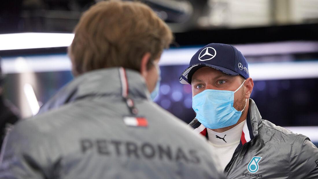 Valtteri Bottas - Mercedes - Testfahrten - Silverstone - Juni 2020