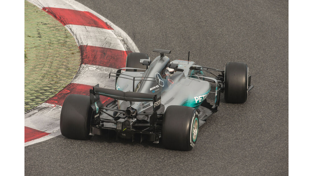 Valtteri Bottas - Mercedes W08 - Barcelona - Testfahrten