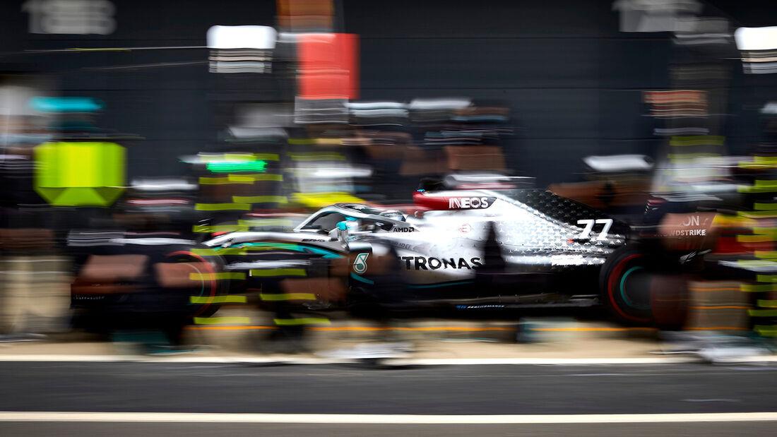 Valtteri Bottas - Mercedes W09 - Testfahrten - Silverstone - Juni 2020