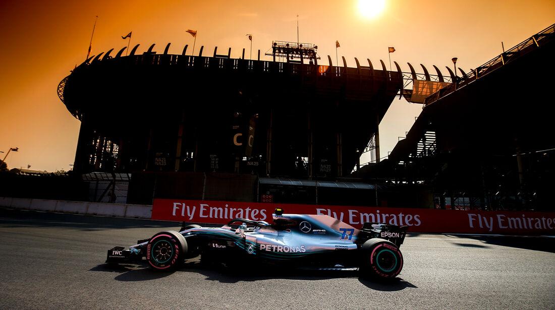 Valtteri Bottas - Merecedes  - Formel 1 - GP Mexiko - 26. Oktober 2018