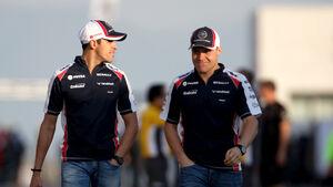 Valtteri Bottas Pastor Maldonado Williams 2012