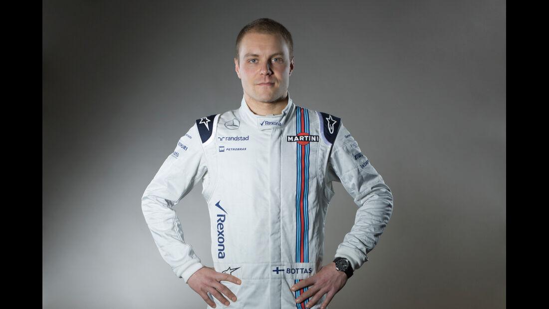 Valtteri Bottas - Porträt - Formel 1 - 2015