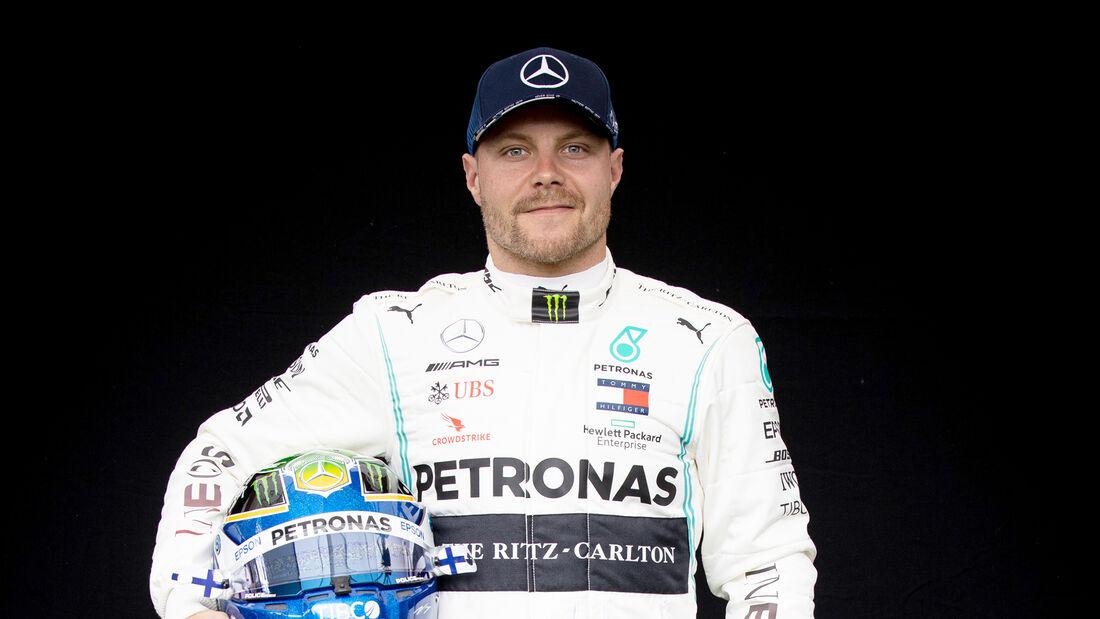 Valtteri Bottas - Porträt & Helm - Formel 1 - 2020