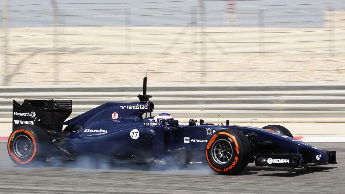 Valtteri Bottas - Williams - Bahrain - Formel 1-Test  - 2014