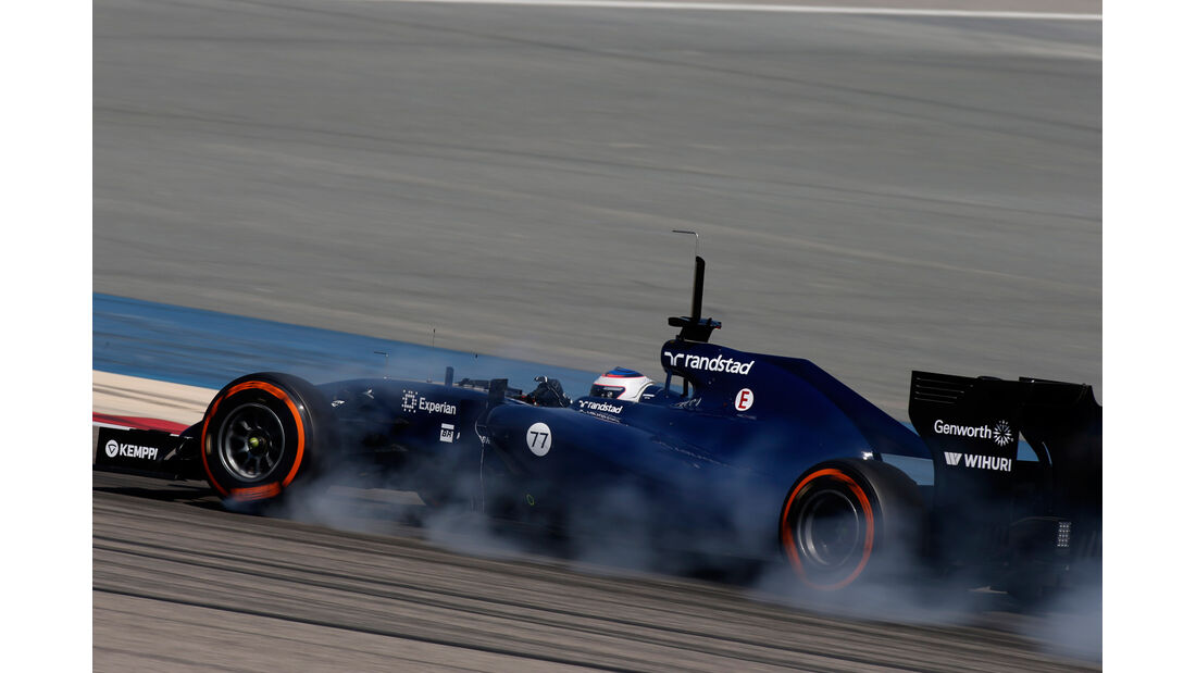 Valtteri Bottas - Williams - Bahrain - Formel 1 Test - 2014