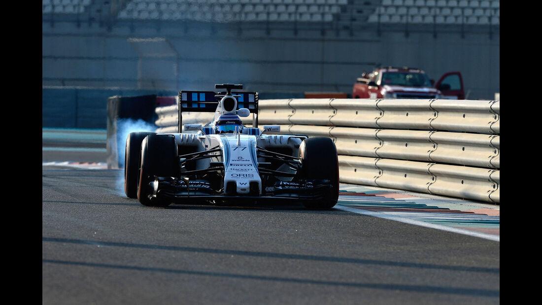 Valtteri Bottas - Williams - F1 Test - Abu Dhabi - Dienstag - 1.12.2015