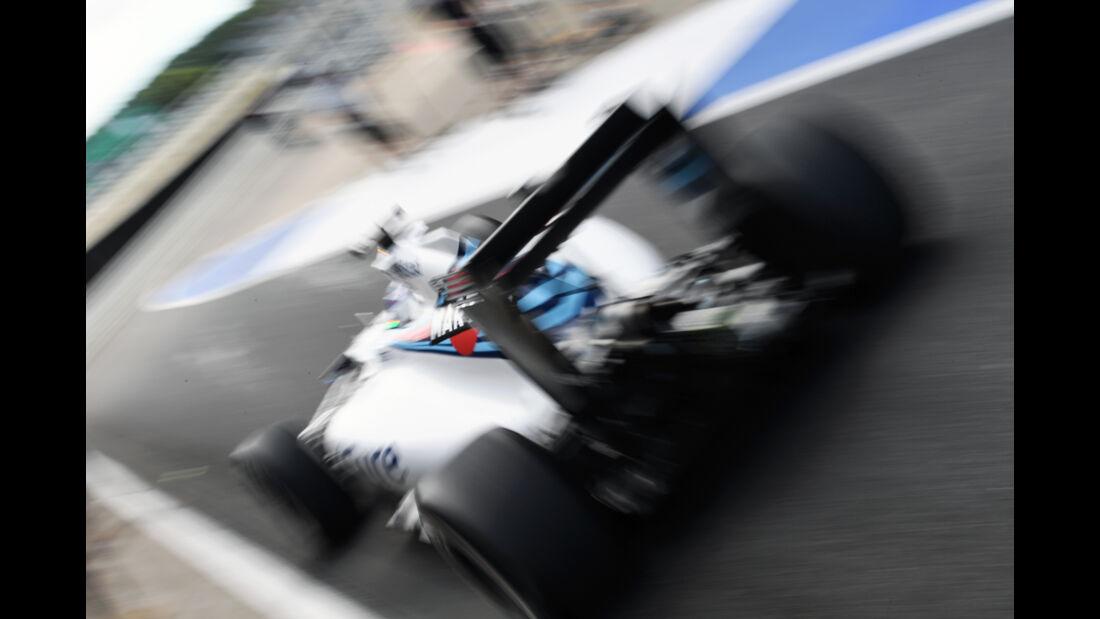 Valtteri Bottas - Williams - F1-Test - Silverstone - 13. Juli 2016