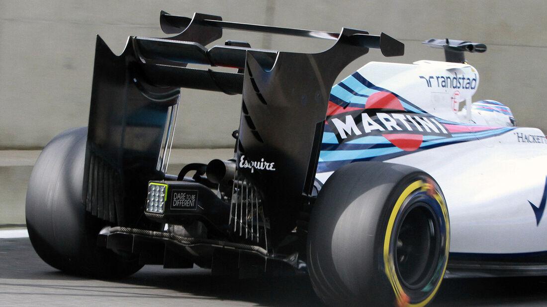 Valtteri Bottas - Williams FW38 - Silverstone Test 2016
