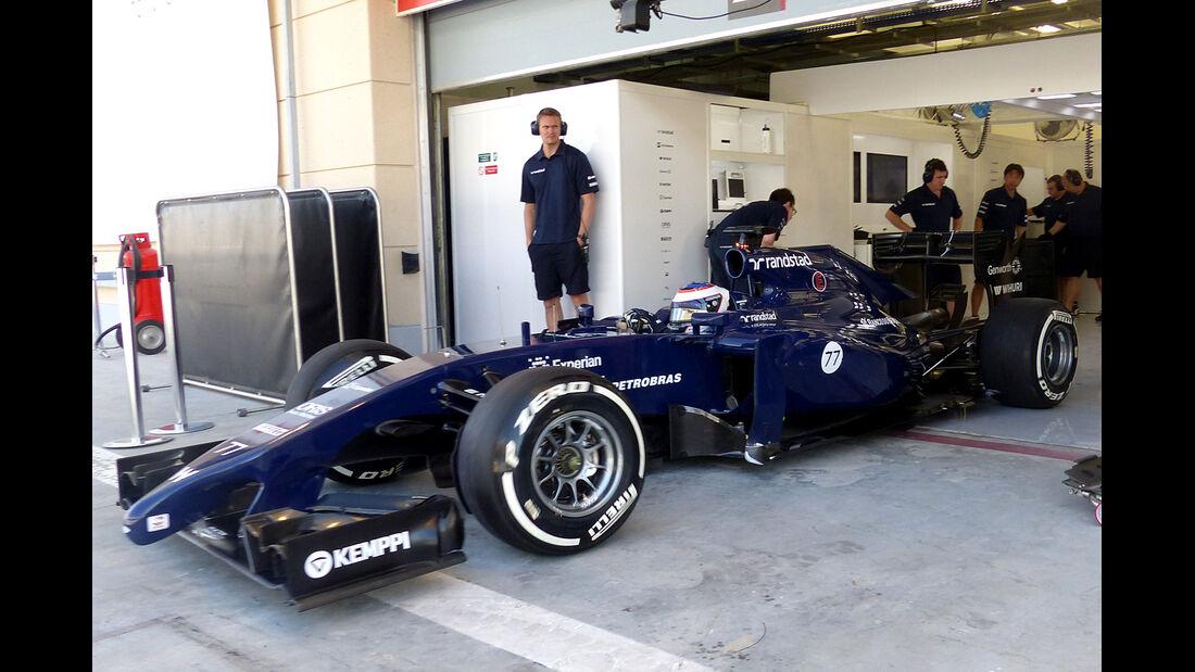 Valtteri Bottas - Williams - Formel 1 - Bahrain - Test - 2. März 2014