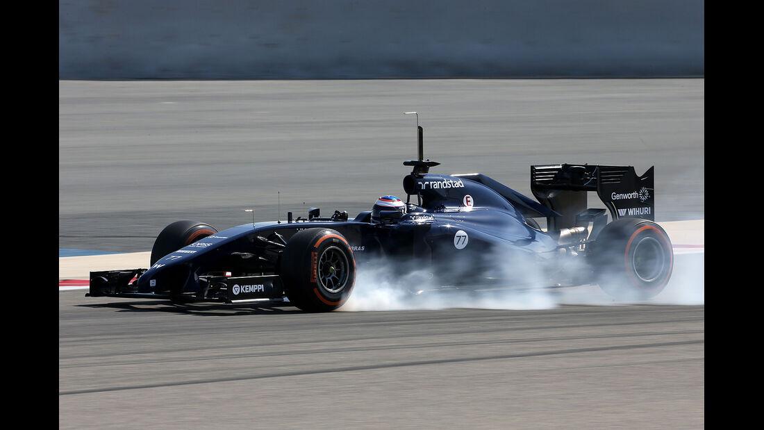 Valtteri Bottas - Williams - Formel 1 - Bahrain - Test - 20. Februar 2014