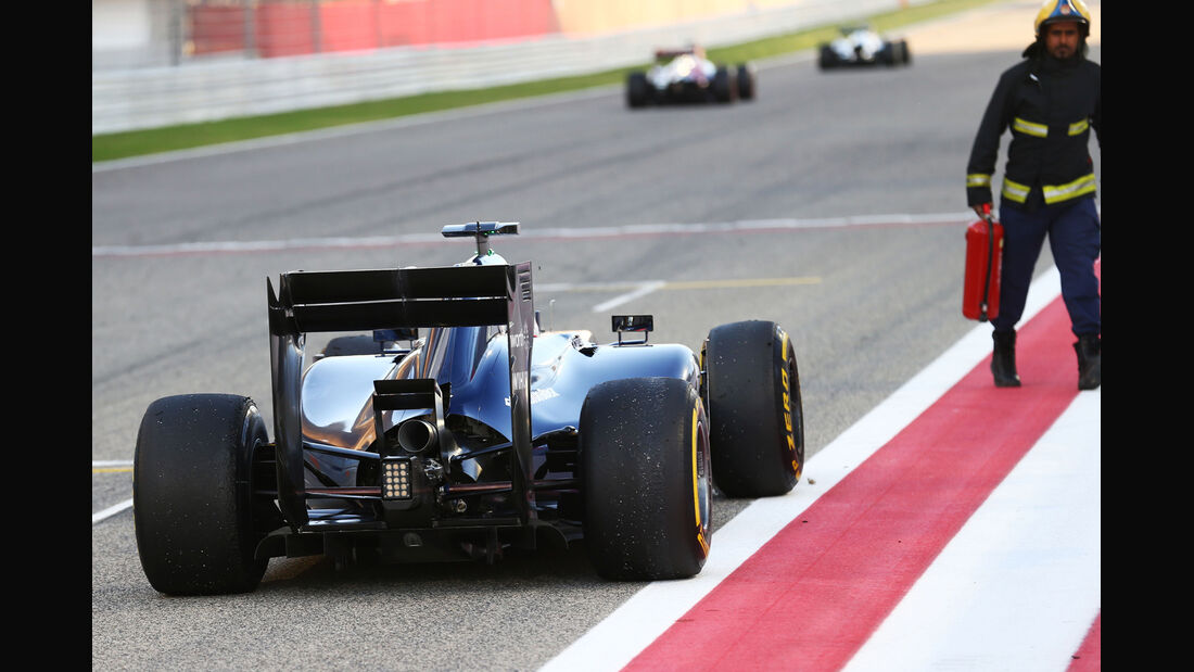 Valtteri Bottas - Williams - Formel 1 - Bahrain-Test 2014