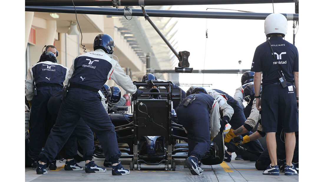 Valtteri Bottas - Williams - Formel 1 - Bahrain - Test - 21. Februar 2014