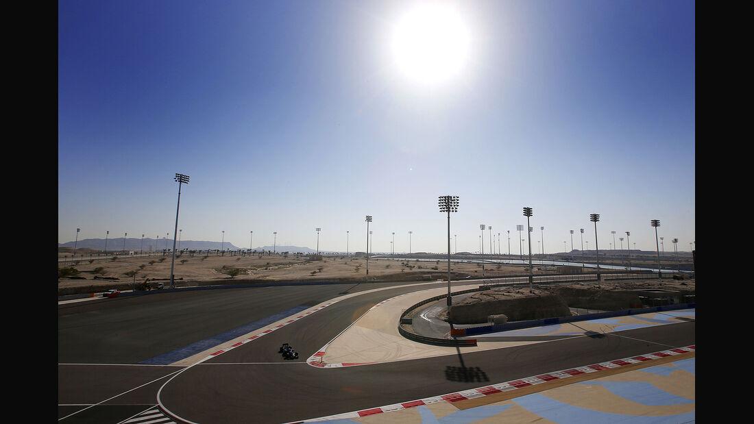 Valtteri Bottas - Williams - Formel 1- Bahrain - Test - 21. Februar 2014