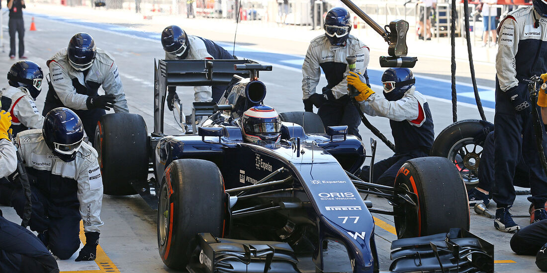 Valtteri Bottas - Williams - Formel 1 - Bahrain - Test - 21. Februar 2014
