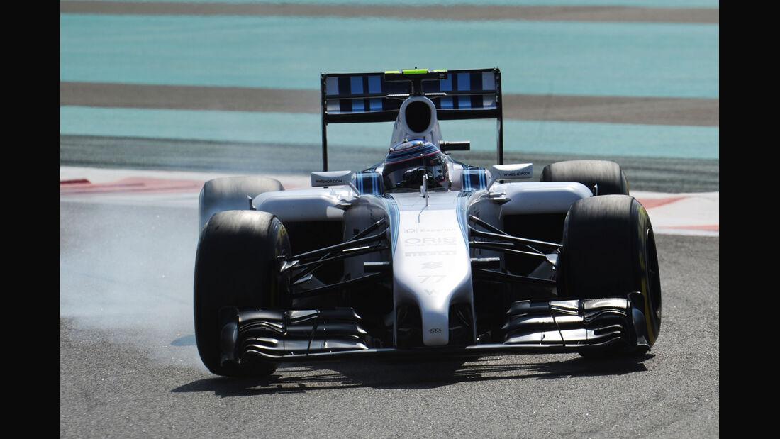 Valtteri Bottas - Williams - Formel 1 - GP Abu Dhabi - 21. November 2014