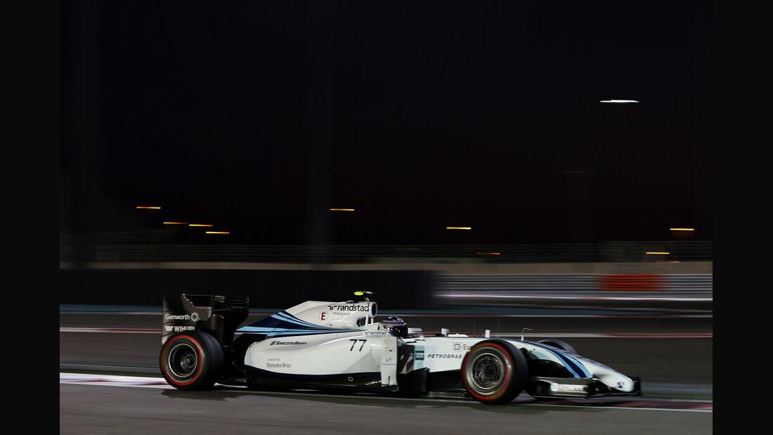 Valtteri Bottas - Williams - Formel 1 - GP Abu Dhabi - 22. November 2014