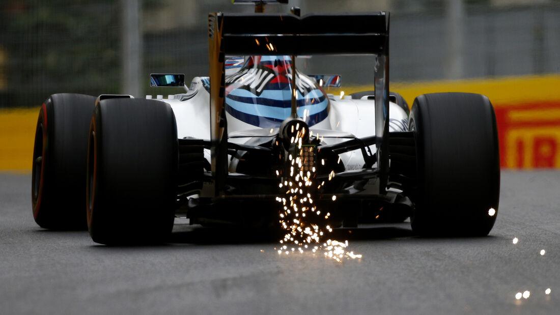 Valtteri Bottas - Williams - Formel 1 - GP Aserbaidschan - Baku - 17. Juni 2016