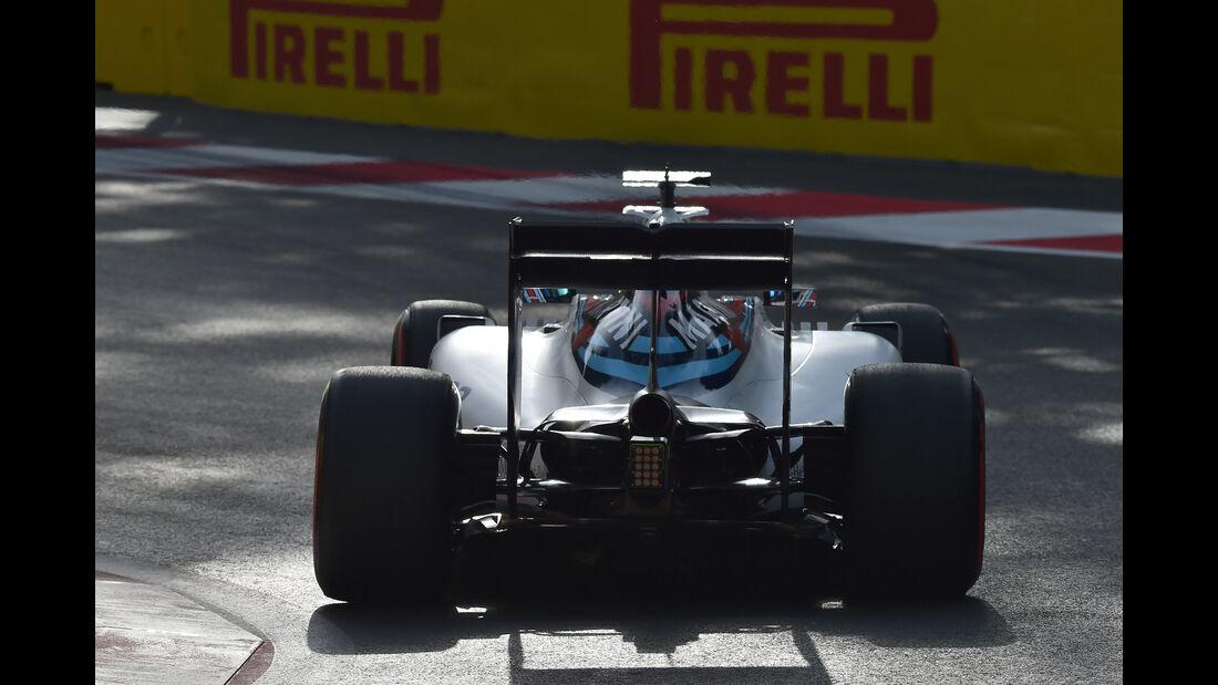 Valtteri Bottas - Williams - Formel 1 - GP Aserbaidschan - Baku - 18. Juni 2016
