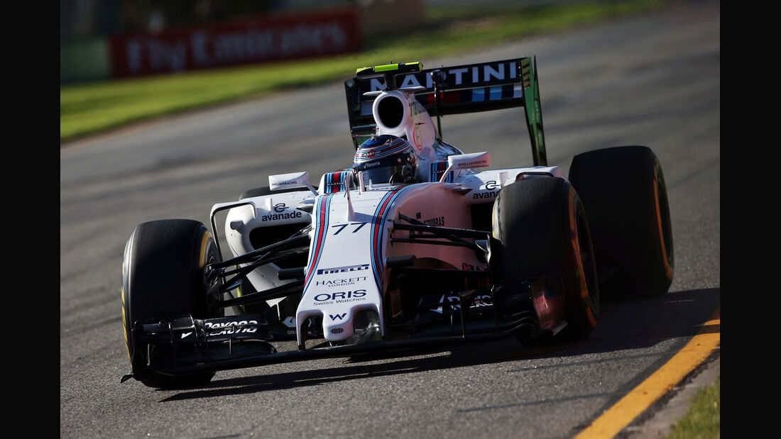 Valtteri Bottas - Williams - Formel 1 - GP Australien - 13. März 2015