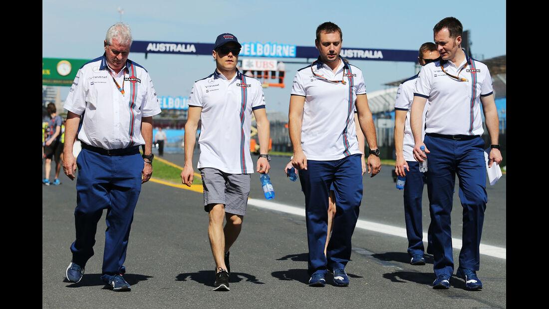 Valtteri Bottas - Williams - Formel 1 - GP Australien - Melbourne - 11. März 2015