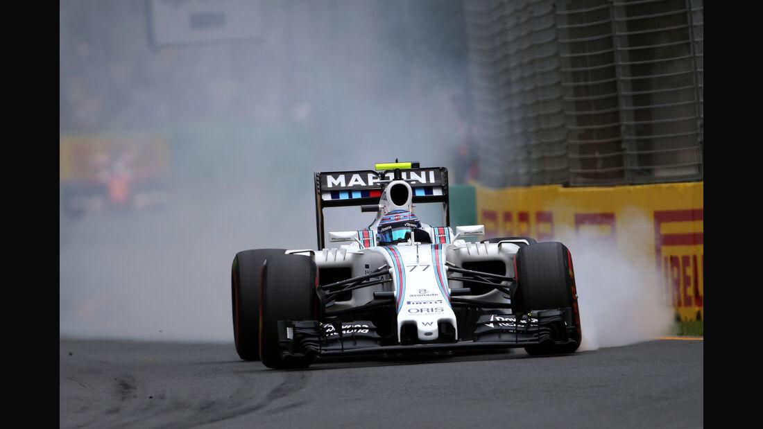 Valtteri Bottas - Williams - Formel 1 - GP Australien - Melbourne - 19. März 2016
