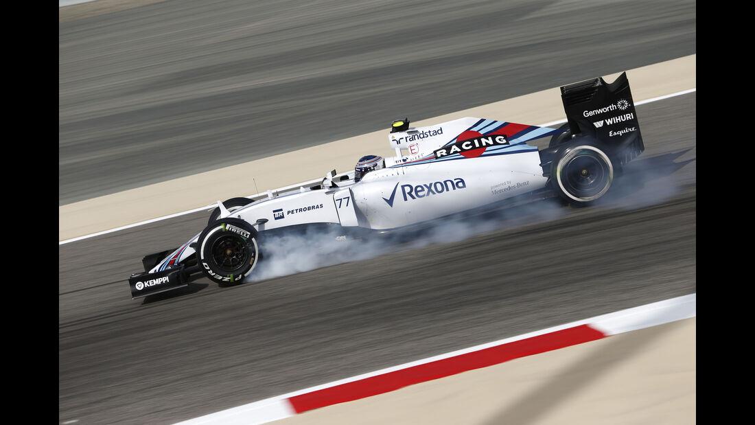 Valtteri Bottas - Williams - Formel 1 - GP Bahrain - 17. April 2015