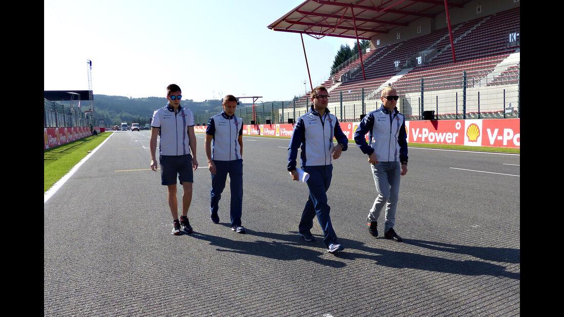 Valtteri Bottas - Williams - Formel 1 - GP Belgien - Spa-Francorchamps - 20. August 2015