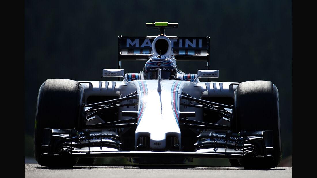 Valtteri Bottas - Williams - Formel 1 - GP Belgien - Spa-Francorchamps - 21. August 2015