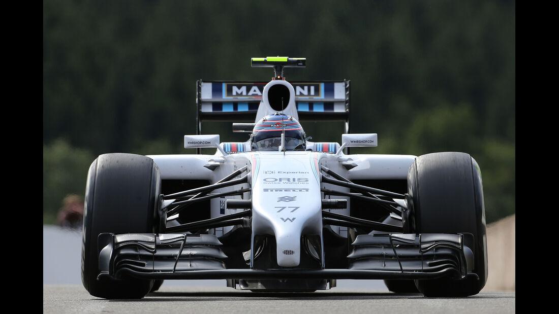 Valtteri Bottas - Williams - Formel 1 - GP Belgien - Spa-Francorchamps - 22. August 2014