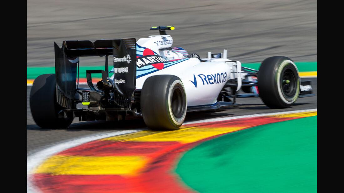 Valtteri Bottas - Williams - Formel 1 - GP Belgien - Spa-Francorchamps - 22. August 2015