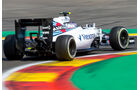 Valtteri Bottas - Williams - Formel 1 - GP Belgien - Spa-Francorchamps - 22. August 2015