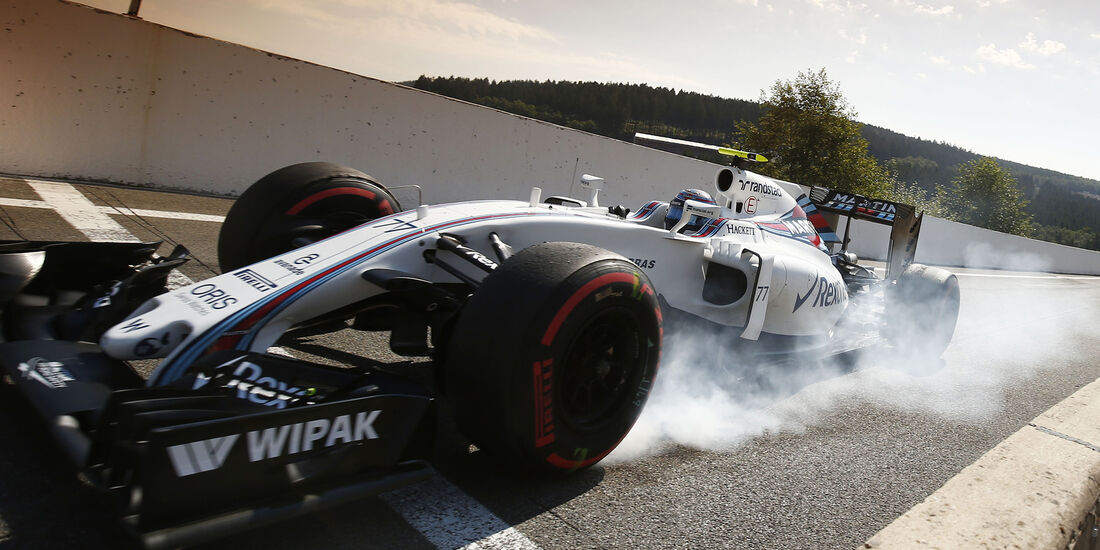 Valtteri Bottas - Williams - Formel 1 - GP Belgien - Spa-Francorchamps - 27. August 2016