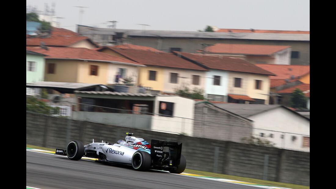 Valtteri Bottas - Williams - Formel 1 - GP Brasilien- 13. November 2015