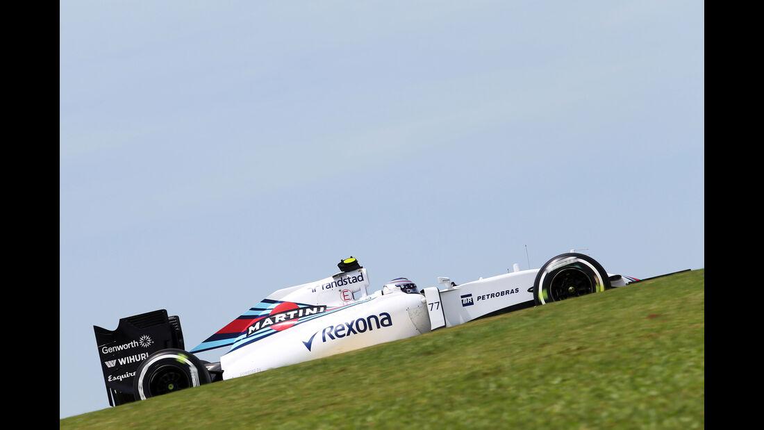 Valtteri Bottas - Williams - Formel 1 - GP Brasilien- 14. November 2015