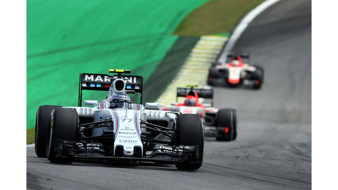 Valtteri Bottas - Williams  - Formel 1 - GP Brasilien- 15. November 2015