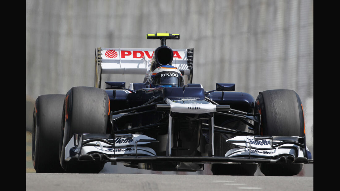 Valtteri Bottas - Williams - Formel 1 - GP Brasilien - Sao Paulo - 23. November 2012