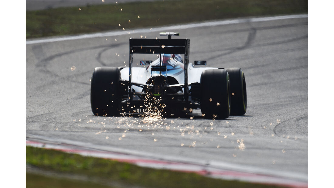 Valtteri Bottas - Williams - Formel 1 - GP China - Shanghai - 11. April 2015