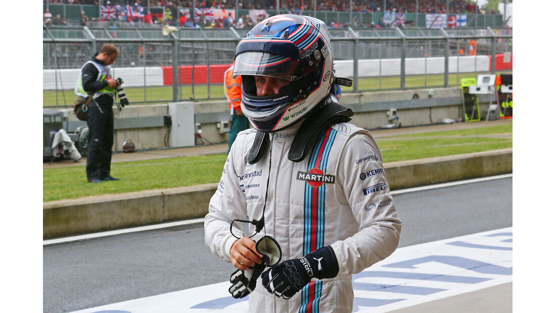 Valtteri Bottas - Williams - Formel 1 - GP England - Silverstone - 5. Juli 2014